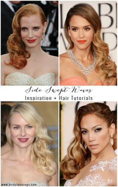 Absolutely crushing on the Retro Waves http://thestylechair.wordpress.com/2014/12/30/hair-dos-to-try-this-nye/