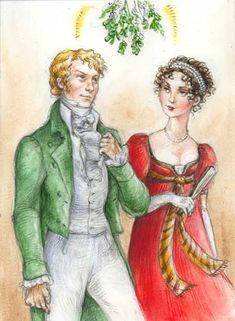 Regency Christmas Card by *suburbanbeatnik on deviantART