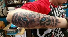 #TigerEyesTattoo #EyeOfTheTiger #TigerTattoo #LeTigre Tiger Eyes Tattoo, Dessert, Tattoos, Tatuajes, Desserts, Deserts, Tattoo, Tattoo Illustration, Irezumi