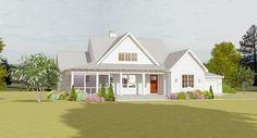 3-Bed Farmhouse with Detached 2-Car Garage - 28923JJ | Architectural Designs - House Plans