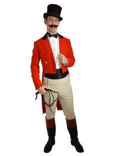 French circus...Ringmaster tan pants could work, too!