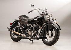 Steve McQueens 1946 Indian Chief - Steve McQueen's First Motorcycle