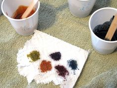 Creating Custom Colors using Oxides and Ultramarines - Color Palette 1 | Lovin Soap Studio