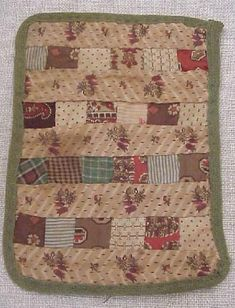 19thC Doll Quilt