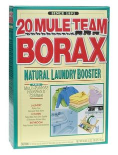 Borax: Combining equal amounts of white vinegar and borax will banish mold and mildew from hard surfaces. This natural mineral can also clean your toilet. Pour 1 cup of borax into the toilet bowl and let it sit for a few hours before scrubbing to eliminate stains and odor