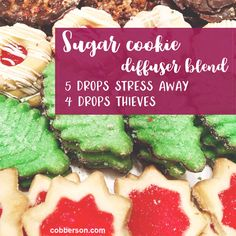 Self care Sunday: Sugar cookie diffuser blend | Cobberson + Co.
