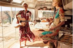 The most gorgeous airstream refurb- from Vogue's story on Taylor Swift and Karlie Kloss