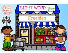 Free Sight Word Shop is perfect for Preschool, kindergarten and first graders. This product will help children to learn sight word Primer by finding, coloring and counting. This product is also perfect for classroom activities, morning work, word work and literacy centers.