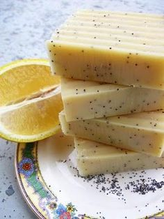 Lemon Poppy Seed Soap Recipe ~ Bath Alchemy - A Soap Blog and More