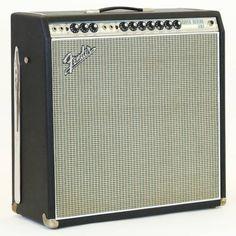 1969 Fender Super Reverb -Amp Vintage Electric Guitar Amplifier- Pristine Drip Edge Silverface Amp!