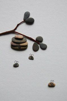 Amazing artwork with rock