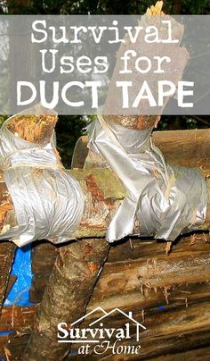 Survival Uses for Duct Tape | Survival at Home | #prepbloggers #repairs