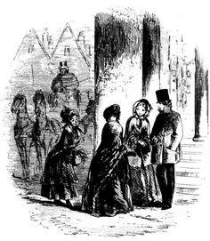 Phiz's original illustrations for Bleak House