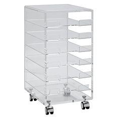 Buy John Lewis Ice 6 Drawer Filing Cabinet Online at johnlewis.com