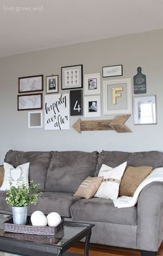 A Few Gallery Wall Ideas From Around The Web And Different Styles To Choose As Well Tips On How Hang Your