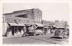 RP; Main Street , Business Block , GLENN´S FERRY , Idaho , 30-40s ; Drug Store