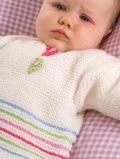 Baby Sweater & Trousers pattern para utilizar los poquitos de hilo!!