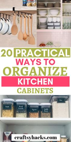 Organization Ideas ikea Wants a clean and organized kitchen? Organize your kitchen with these simple hom. Wants a clean and organized kitchen? Organize your kitchen with these simple home organization ideas. Kitchen Cupboard Organization, Home Organization Hacks, Organizing Your Home, Closet Organization, Organized Kitchen, Organising Hacks, Cupboard Ideas, Organizing Ideas, Kitchen Storage
