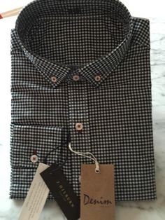J. Hilburn custom shirt.