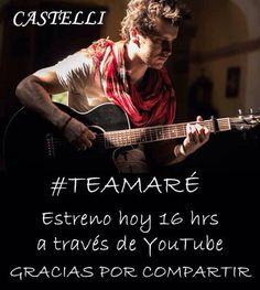 Vean #TeAmaré de Samuel Castelli les va a gustar aquí el link http://bit.ly/1EM33jf