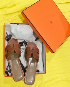 46068759d24b One for the year 😁  hermes oran sandals