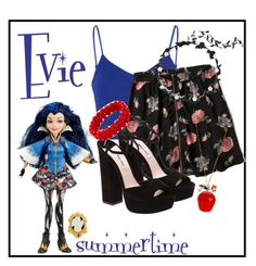 """""""Evie from Descendants"""" by lilpufjr ❤ liked on Polyvore featuring Glamorous, Abercrombie & Fitch, Miu Miu and Betsey Johnson"""