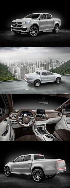 Cool Mercedes 2017: Mercedes Premium 'Pick-Up' X-Class is here! Get more details at: https://www.amazon.co.uk/Baby-Car-Mirror-Shatterproof-Installation/dp/B06XHG6SSY