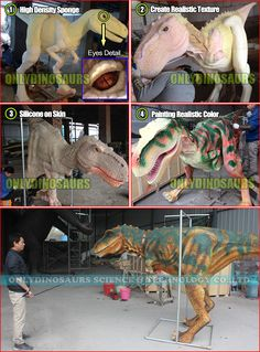 How we Make Dinosaur Suit