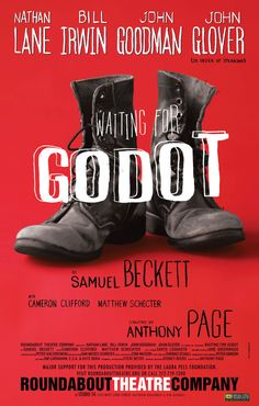Waiting for Godot on Behance Irwin Goodman, Theatre Posters, Samuel Beckett, Schecter, Waiting, Behance, Performing Arts Posters
