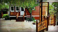 Arbor / Arch / Gazebo / Patio / Garden Gates / Cedar and Redwood / Craftsman / Bungalow / Victorian Style