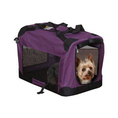 Special Offers - Guardian Gear Nylon/Steel Soft-Sided Collapsible Dog Crate XX-Small Plum - In stock & Free Shipping. You can save more money! Check It (July 31 2016 at 09:24AM) >> http://dogcollarusa.net/guardian-gear-nylonsteel-soft-sided-collapsible-dog-crate-xx-small-plum/