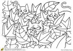 Kedi Special Education, Art Education, Worksheets, Training, Cats, Coloring, Autumn, Ideas, Preschool