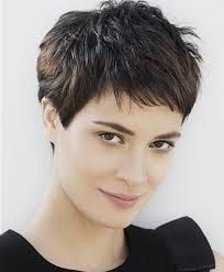 Image result for very short hairstyles 2016