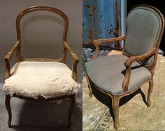 beautiful restoration and refinishing on this antique office chair by the at liberty bell furniture