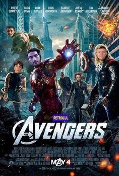 FUN: Petrolul Ploiesti – The Avengers