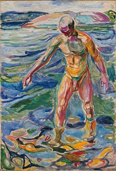 Bathing Man, 1918