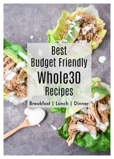 Best Budget Friendly Whole30 Recipes - my most loved Whole30 Breakfast, Lunch, and Dinner recipes that won't break the bank! | tastythin.com #whole30 #keto #paleo #budget #lowcarb #glutenfree #mealplan #mealprep