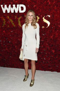 Anna Ewers attends the 2017 WWD Honors at The Pierre Hotel on October 24, 2017 in New York City.