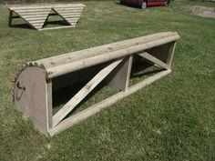Cross Country Jump - 1 2 Log Roll