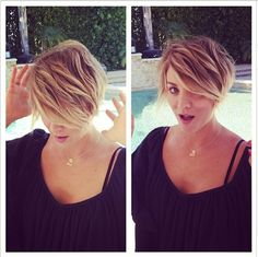 Kaley Cuoco Goes Shorter with a Pretty Pixie