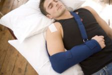 Living & Sleeping with a Shoulder Sling    NOTE: It is essential that you regularly loosen or release the sling to exercise and move your elbow, wrist and hand to prevent stiffness of these joints. This should be done at least 4 times per day.