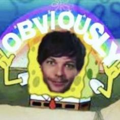 One Direction Louis, One Direction Humor, One Direction Pictures, Larry Stylinson, Funny Reaction Pictures, Funny Pictures, Foto One, Harry Styles Memes, Louis Tomlinsom