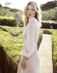 Kate Moss  Elle France August 2012