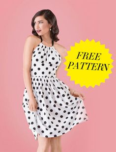 Hundreds of FREE Dress Patterns, Templates & Tutorials – Feed Our Life Sewing Patterns Free, Free Sewing, Clothing Patterns, Vintage Patterns, Free Pattern, Vogue Patterns, Dress Pattern Free, Pdf Sewing Patterns, Fashion Sewing