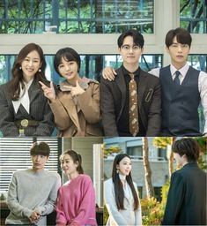 "JTBC's Monday-Tuesday drama ""The Beauty Inside"" has shared new behind-the-scenes stills of the cast members having fun together! Korean Celebrities, Korean Actors, Korean Idols, Korean Dramas, Lee Min, Seo Hyun Jin, Thai Drama, Drama Queens, Beauty Inside"