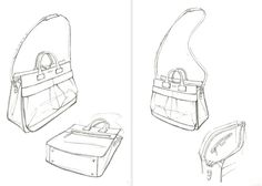 bag sketches