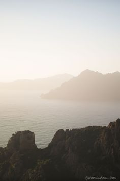 Corsica, ocean, mountains - part of my project with L'Occitane and Marie Claire Fr / Garance Doré