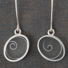 Carla Pennie Jewelry Design – Earrings – Spiral Earring