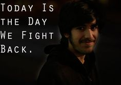 Today Is 'The Day We Fight Back'