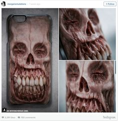 Gruesome Phone Cases Featuring Mutated Monsters Sculpted Out of Polymer Clay
